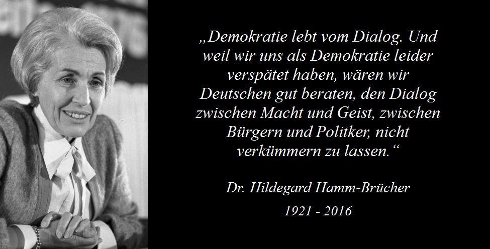 Dr. Hildegard Hamm-Brücher