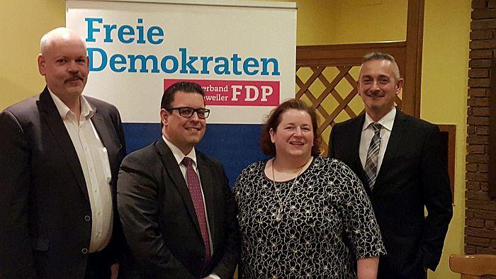 Ortsparteitag der Freien Demokraten am 26. Januar 2017 in Eschweiler