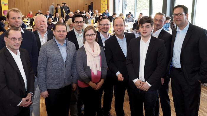 FDP-Bezirksparteitag auf Burg Vogelsang