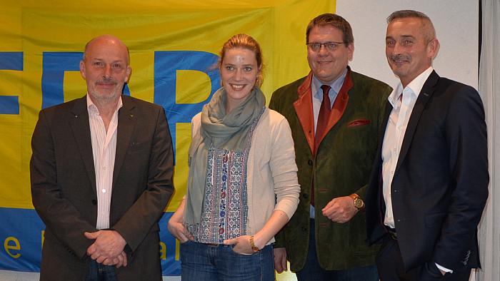 Liberale bereiten in Stolberg Wahlkampf-Endspurt vor