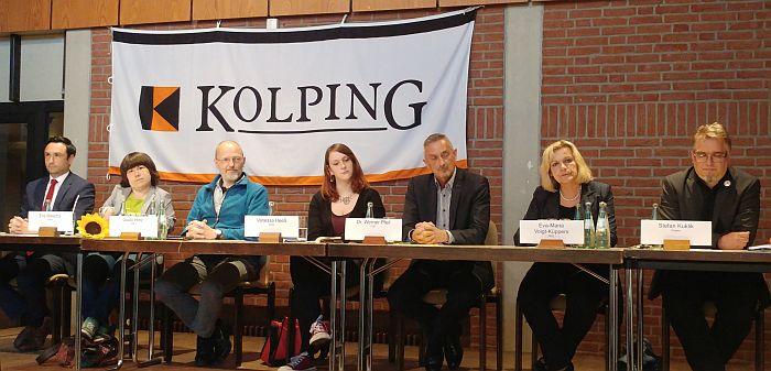 NRW-Wahlforum in Zusammenarbeit mit der Kolpinsgfamilie Alsdorf