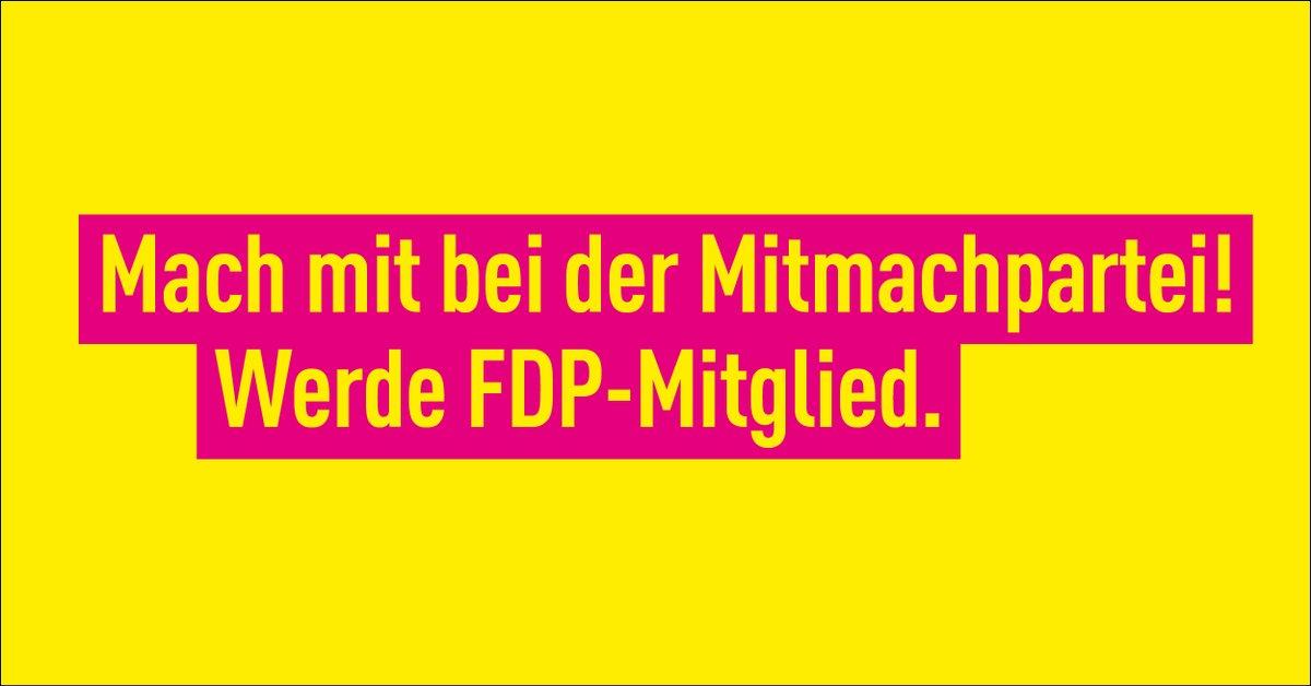 Werde FDP-Mitglied!