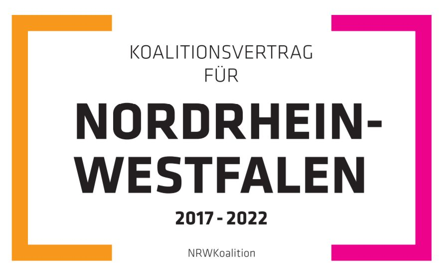 Koalitionsvertrag für Nordrhein-Westfalen 2017 - 2022