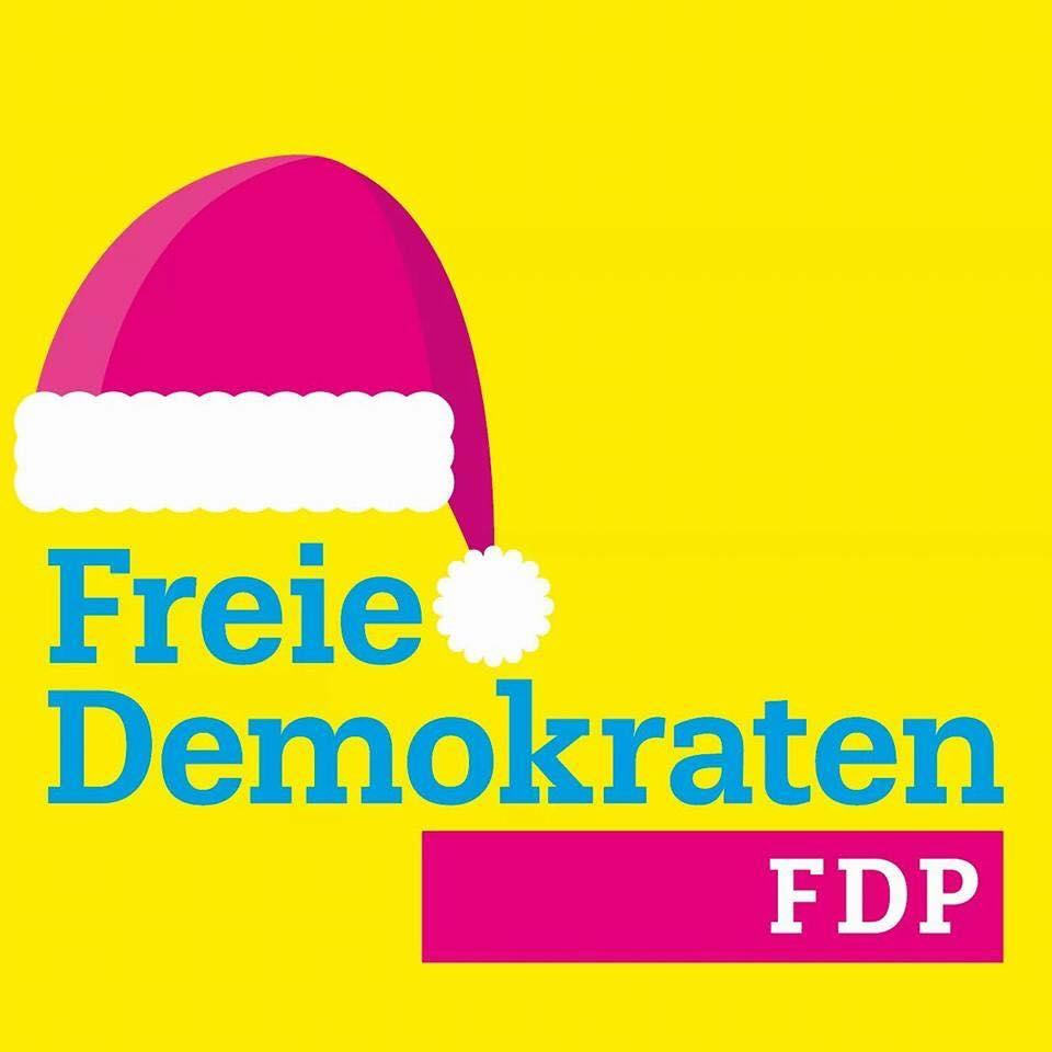Freie Demokraten wünschen schöne Feiertage